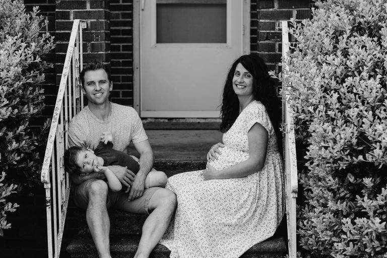 Kitchen Ambition founder, David Lewis, and his family.